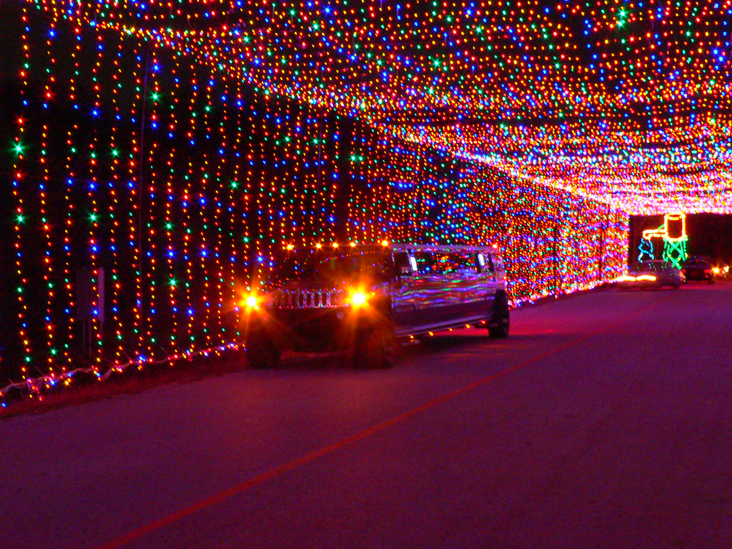 christmas light tours in dallas